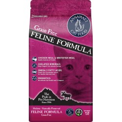 ANNAMAET Grain Free Formula 5,440 kg x 4 Chaton & Chat Adulte/Senior